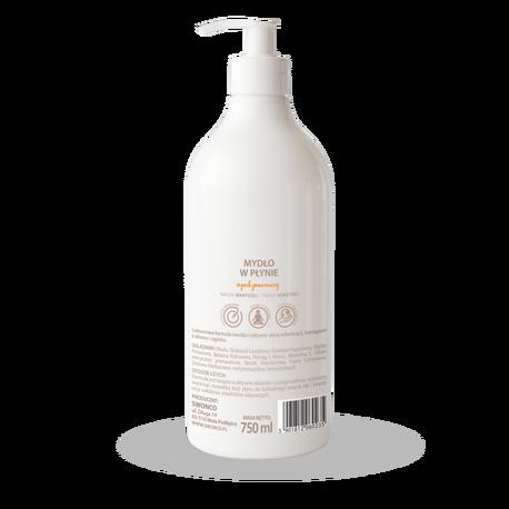 Mydło w płynie, Cytrusowe 750 ml, Swonco (2)