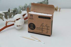 Patyczki kosmetyczne - wykonane z bawełny i bambusa, 100 szt.