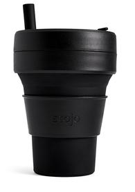 Składany kubek Stojo Biggie Ink - czarny, 470 ml