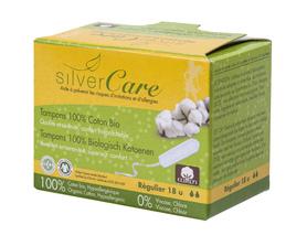 Tampony Regular - 18 szt (bez aplikatora), 100% bawełna organiczna