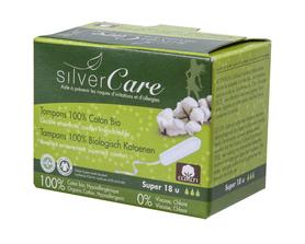Tampony Super - 18 szt (bez aplikatora), 100% bawełna organiczna