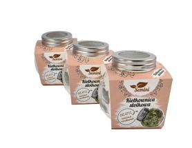 Kiełkownica słoikowa - zestaw 3 sztuki + nasiona gratis