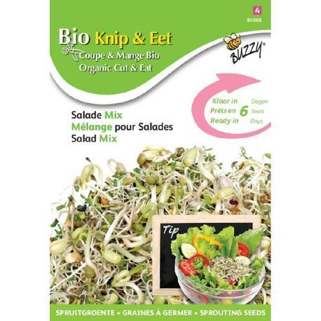 BIO nasiona na kiełki - Mieszanka Sałatkowa, 30 g (1)