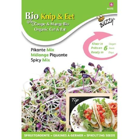 BIO nasiona na kiełki - Mieszanka Pikantna, 30 g (1)