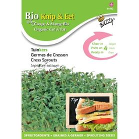 BIO nasiona na kiełki - Rzeżucha, 30 g