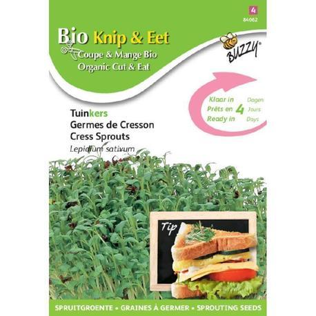 BIO nasiona na kiełki - Rzeżucha, 30 g (1)