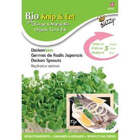 BIO nasiona na kiełki - Japońska Rzodkiewka, 30 g