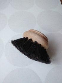 Szczotka do mycia naczyń drewno + włos koński - zapas
