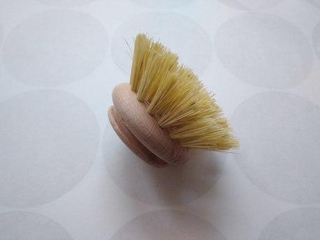 Szczotka do mycia naczyń drewniana + tampico (agawa) - zapas (1)