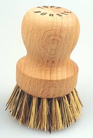 Szczotka do mycia garnków - drewno bukowe + union