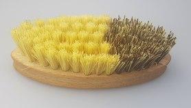 Szczotka do jarzyn - drewno bukowe + tampico/union