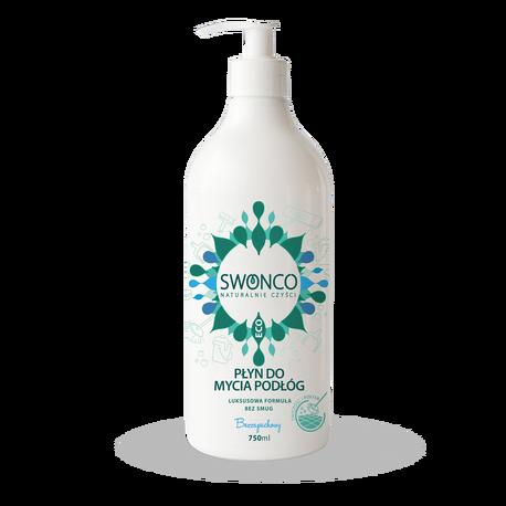 Płyn do mycia podłóg, Bezzapachowy 750 ml, Swonco (1)