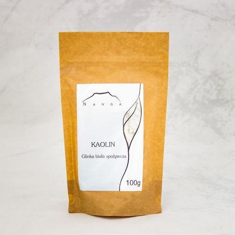 Kaolin - GLINKA BIAŁA, spożywcza, 100 g (1)