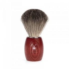 Pędzel do golenia MÜHLE Modern 81H3 RED - borsuk + jesion bejcowany