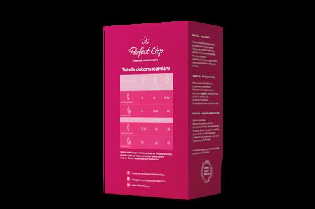 Polski kubeczek menstruacyjny Perfect Cup, rozm. S (3)