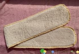 Wkład bambusowy Long, 10 x 60 cm, 2 warstwy, Nappime