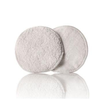Wielorazowe wkładki laktacyjne z bambusem, białe, 3 pary., XKKO (3)