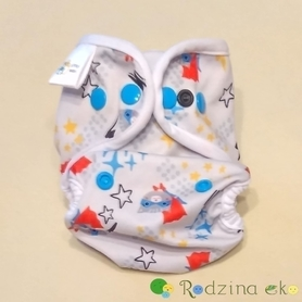 Otulacz S (3 - 7 kg) - Super Kot, Little Birds