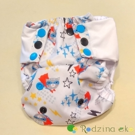 Otulacz SIO OS Slim (5 - 12 kg) - Super Kot, Little Birds