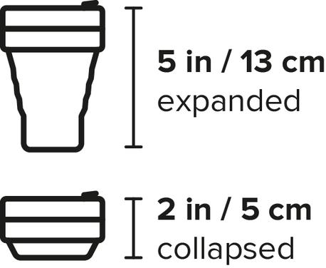 Składany kubek Stojo pocket - różne kolory (2)