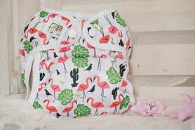 Otulacz One Size, Flamingi, NappiMe