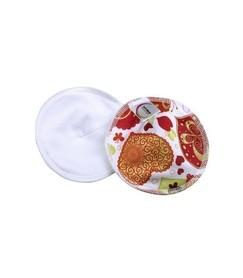 Wielorazowe wkładki laktacyjne, profilowane, z bawełną organiczną, Dobroć, Soft Moon