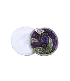 Wielorazowe wkładki laktacyjne, profilowane, z bawełną organiczną, Piękno, Soft Moon
