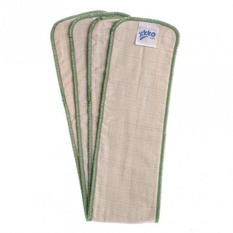 Wkład chłonny rozmiar L, 5 warst, bawełna organiczna (13x80 cm), 1 szt., Xkko (1)