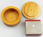Drewniany tygiel dębowy+ mydło do golenia MÜHLE - rokitnik (2)