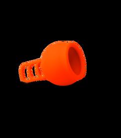 Uniwersalny kubeczek menstruacyjny, One-Size, kolor: pomarańczowy, Merula