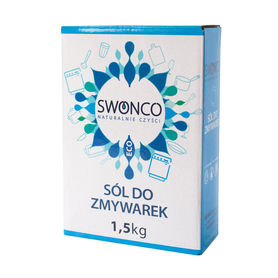 Sól do zmywarek, polska, 1,5 kg, Swonco