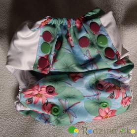 Otulacz SIO OS Slim (5 - 12 kg) - Lilly Rose, Little Birds