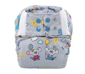 Pieluszka wielorazowa - otulacz, Newborn, Balonik, Mommy Mouse