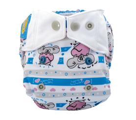 Pieluszka wielorazowa - otulacz, Newborn, Moje Serduszko, Mommy Mouse