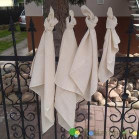 Pielucha tetrowa, 100% bawełna niebielona, 140 g/m2 – 60×60 cm, Dziobak