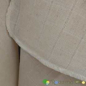 Pielucha tetrowa, 100% bawełna niebielona, 140 g/m2 – 40×40 cm, Dziobak