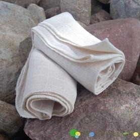 Pielucha tetrowa, 100% bawełna niebielona, 140 g/m2 – 70×70 cm, Dziobak