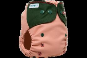 Otulacz wełniany One Size, Pink Herbs, V2 PUPPI by igle figle