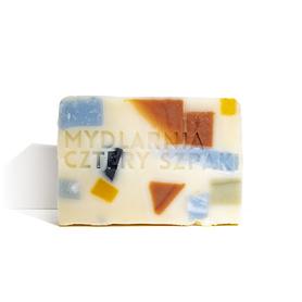 Naturalne mydło ze skrawków, zero waste, Lastryko, 110 g, Cztery Szpaki