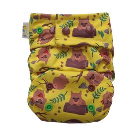 Kieszonka OS Classic (6-15 kg), Tropem wombata, Little Birds