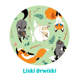 Worko - torba PUL, Liski urwiski, Little Birds