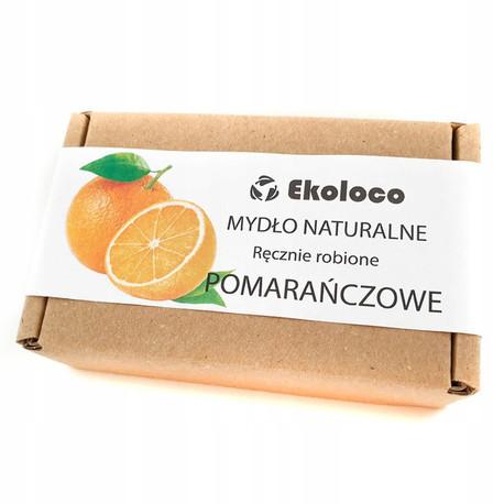 Mydło naturalne Pomarańczowe, 105 g, Ekoloco (1)