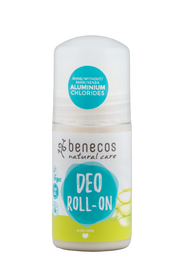Naturalny dezodorant roll-on, bez aluminium, Aloe Vera, 50 ml, Benecos