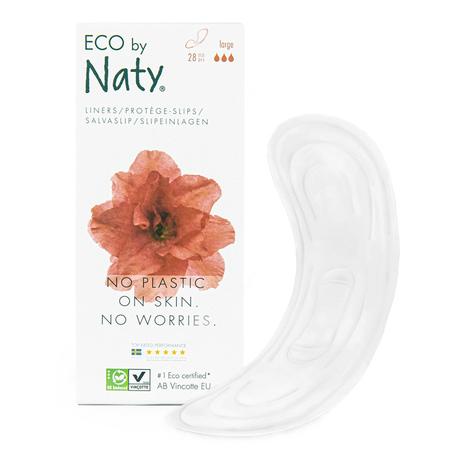 Wkładki higaieniczne Large, 38 szt., Eco by Naty (1)
