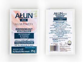 AŁUN - NATURALNY dezodorant w pudrze 25 g