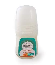 DEZODORANT NATURALNY AŁUNOWY z olejem arganowym i z werbeną, roll on, 50 ml