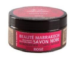 Naturalne czarne mydło z olejem różanym, 100 g