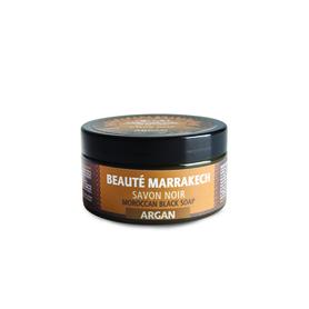 Naturalne czarne mydło z olejem arganowym, 100 g
