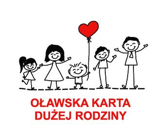 logo programu oławska karta dużej rodziny