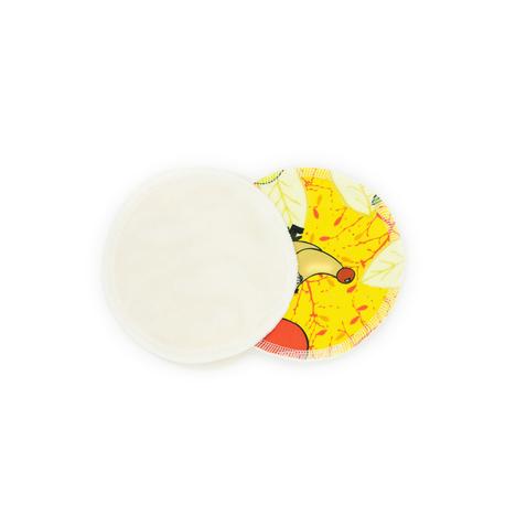Wielorazowe wkładki laktacyjne, Jeże, NappiMe (2)
